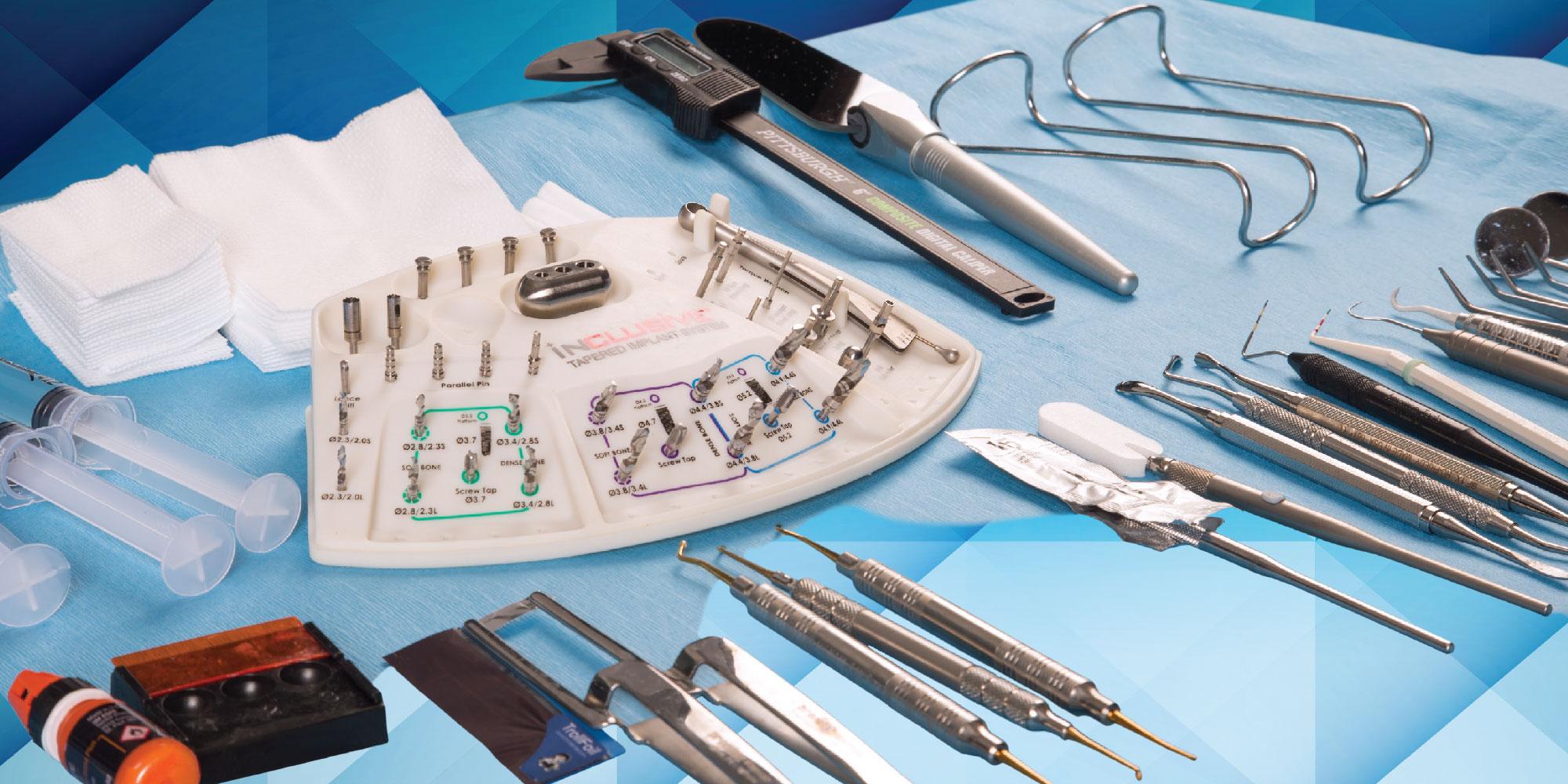 Хирургическая стоматология набор для имплантации